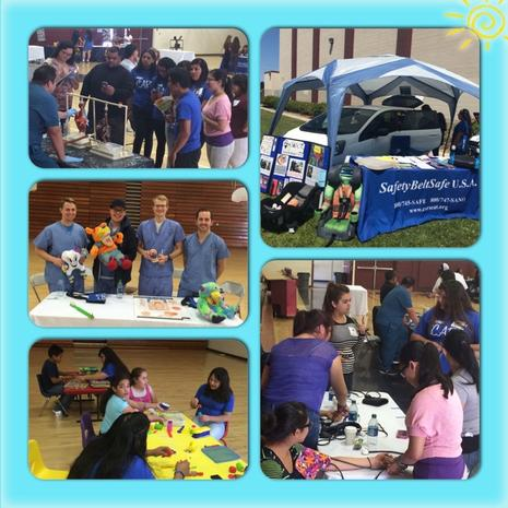 iCARE Family Health and Safety Fair May 2015